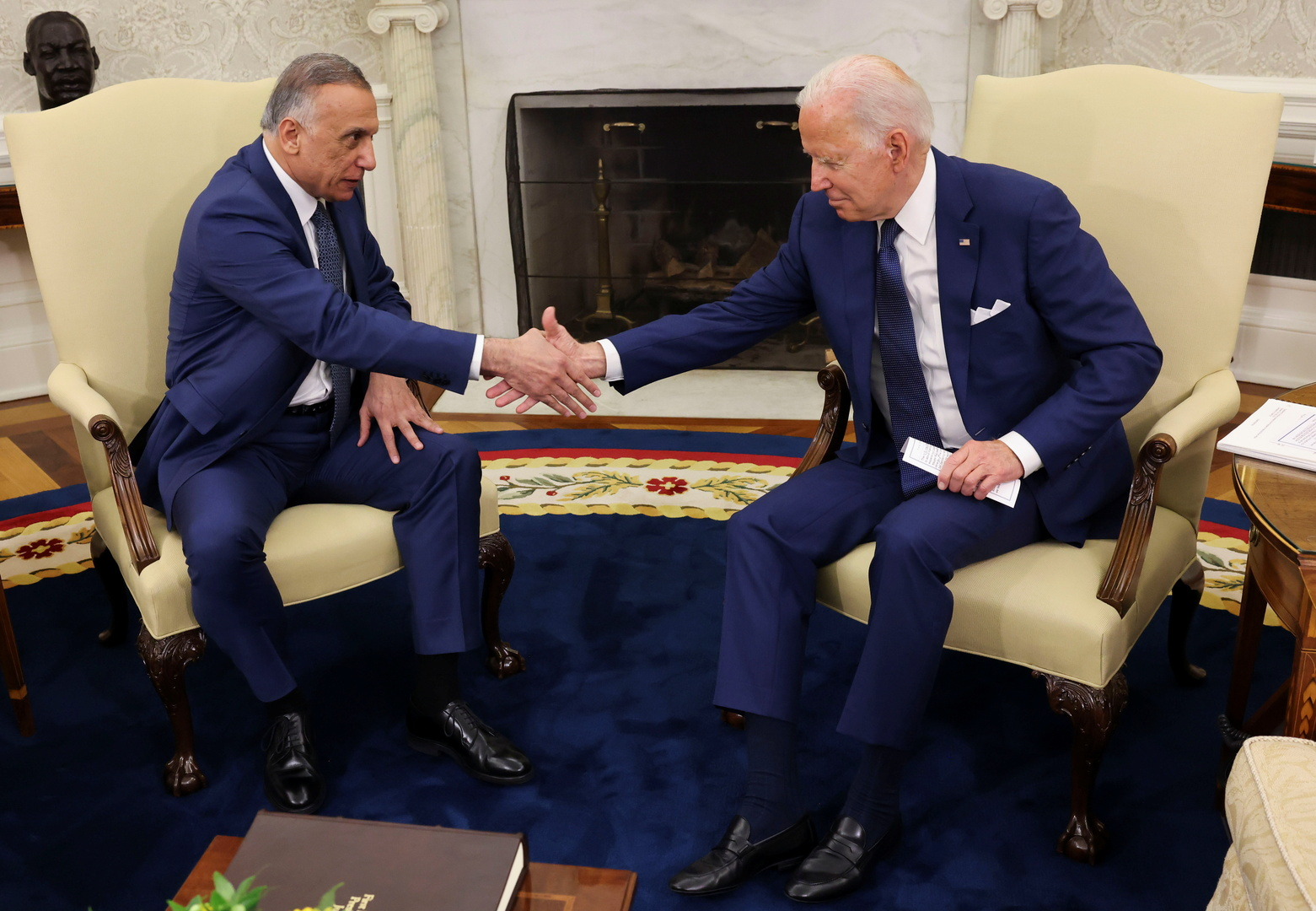 بايدن: التعاون في محاربة الإرهاب مع العراق سيستمر