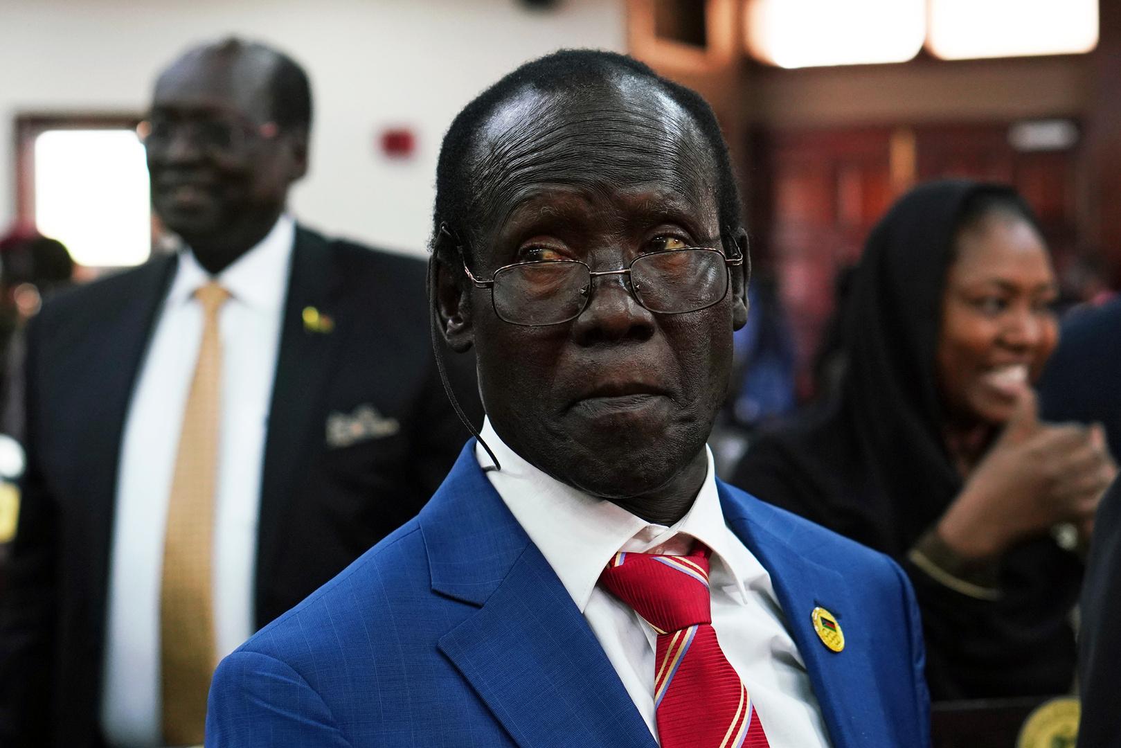 نائب رئيس جنوب السودان يدعو المستثمرين المصريين للتعاون مع بلاده