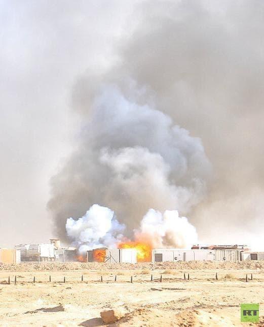 مصدر يكشف لـRT حقيقة ما حدث لمخزن سلاح تابع للحشد الشعبي جنوبي العراق (صور)