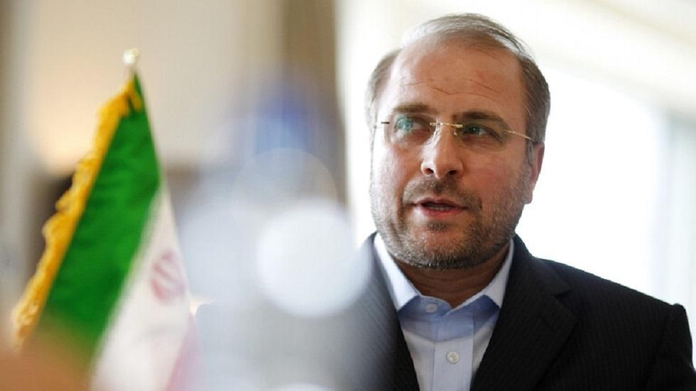 رئيس البرلمان الإيراني يزور سوريا الثلاثاء