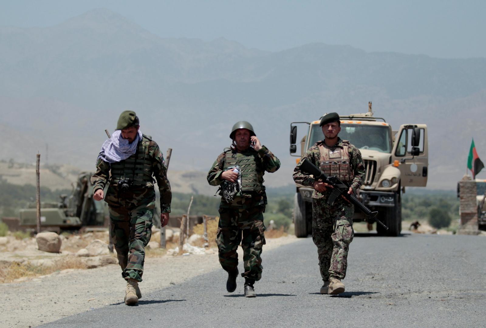 جنود في الجيش الأفغاني