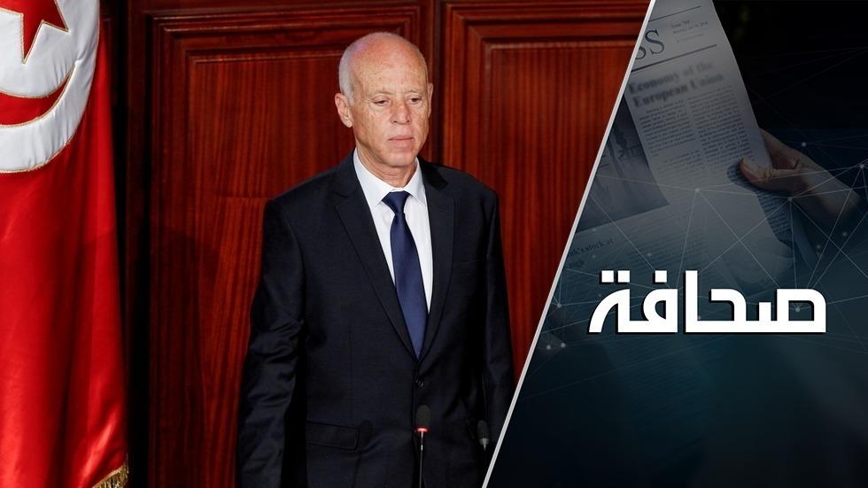 الرئيس التونسي يعلن من السيد في البلاد