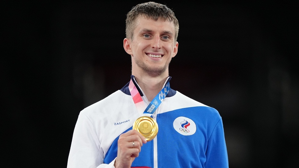 لارين يهدي روسيا الميدالية الذهبية الثانية في التايكواندو والسابعة في أولمبياد طوكيو