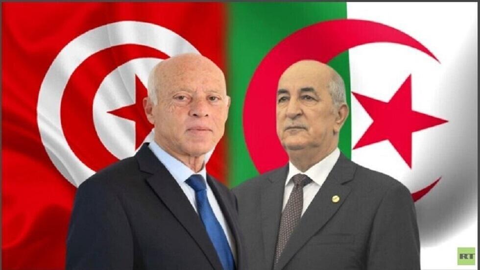 الرئيس الجزائري عبد المجيد تبون ونظيره التونسي قيس سعي