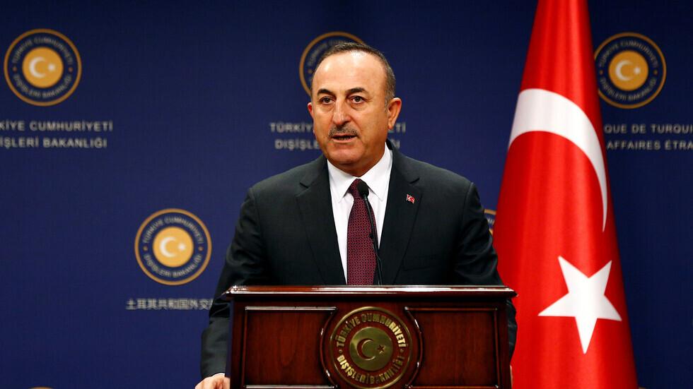 وزير الخارجية التركي، مولود تشاووش أوغلو.