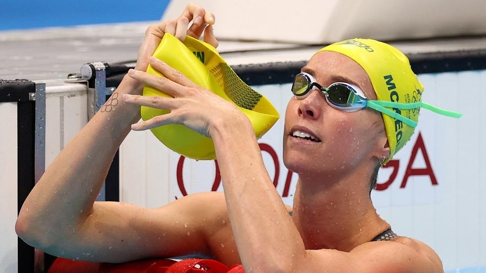 السباحة مكيون تحطم الرقم القياسي الأولمبي في سباق 100 متر حرة