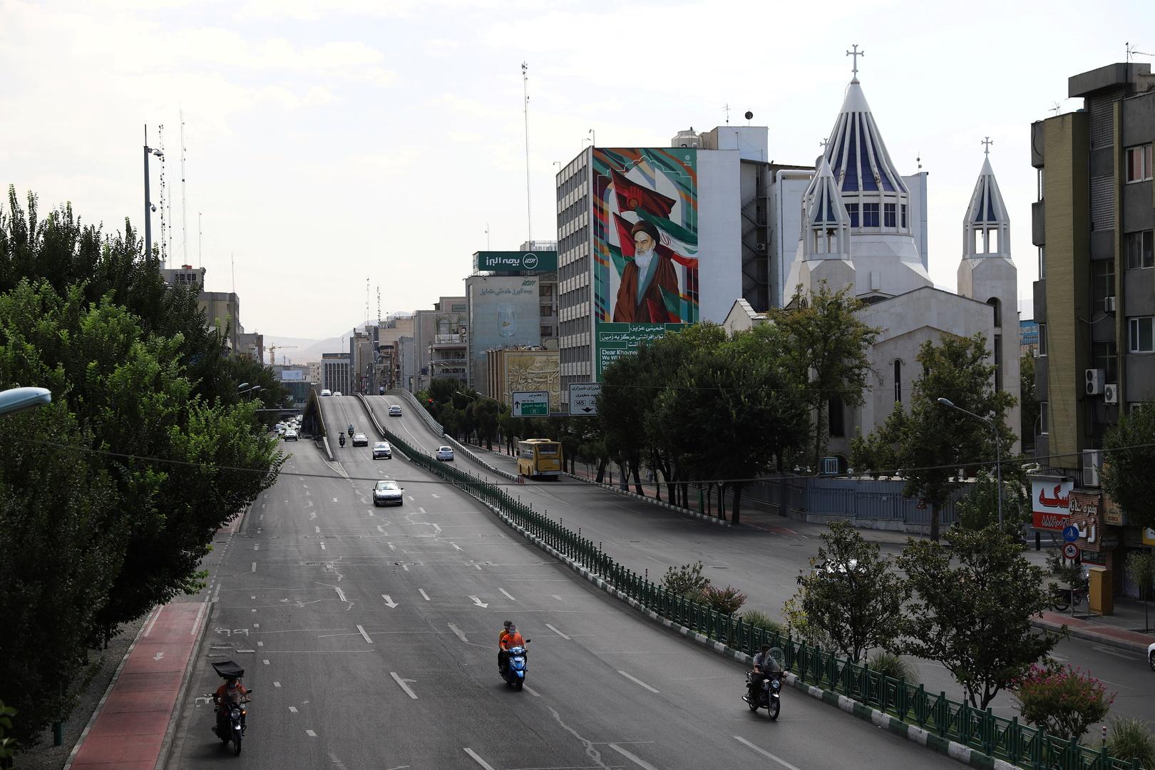 شارع في طهران