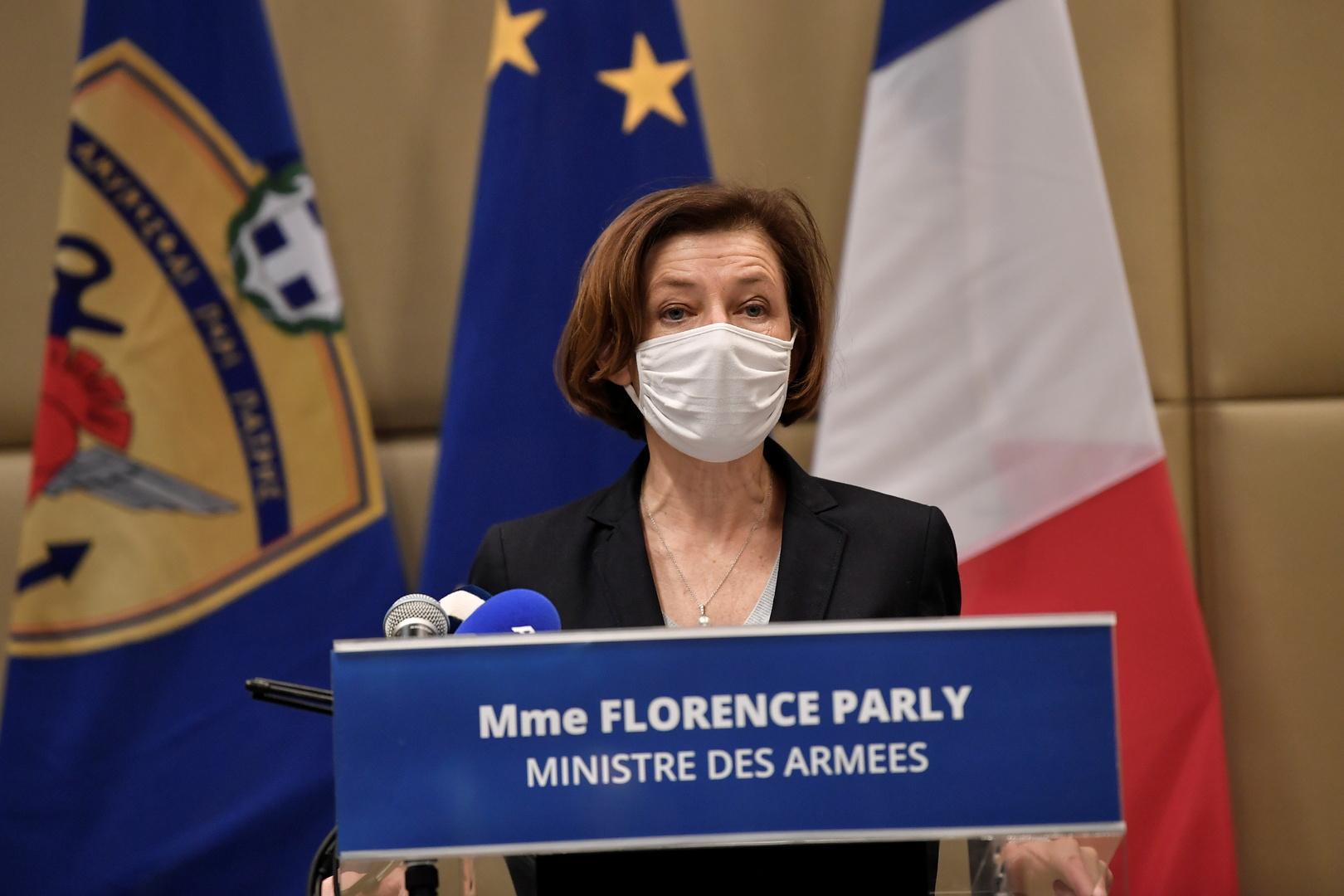 وزيرة الدفاع الفرنسية تناقش قضية