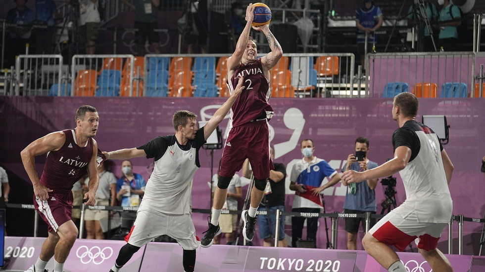 روسيا تحرز فضيتي الرجال والسيدات بكرة السلة (3 ضد 3) في أولمبياد طوكيو