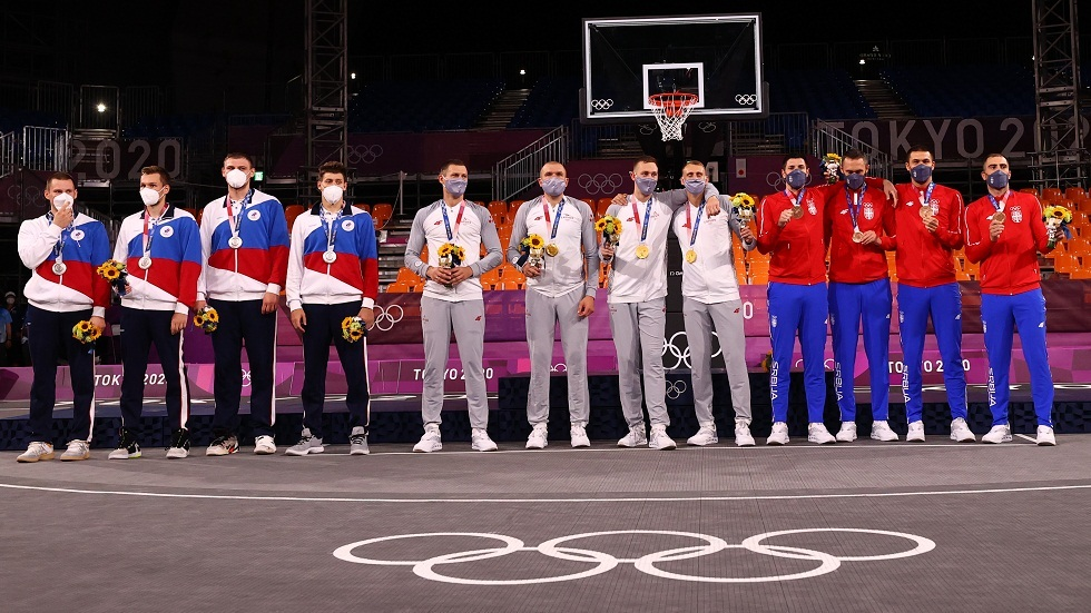 حصيلة اليوم الخامس لميداليات أولمبياد