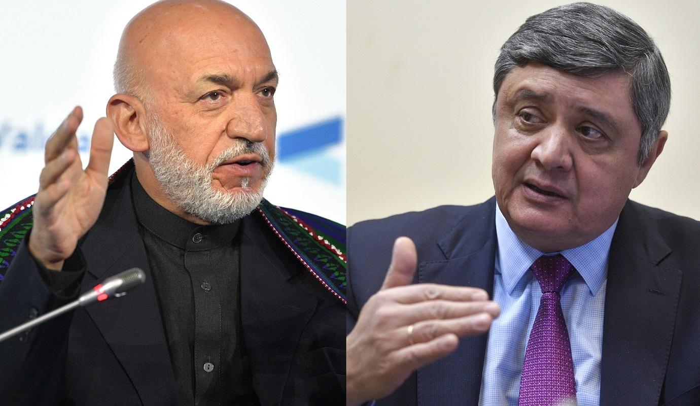 المبعوث الرئاسي الروسي إلى أفغانستان يجري مباحثات مع الرئيس الأفغاني السابق حامد كرزاي