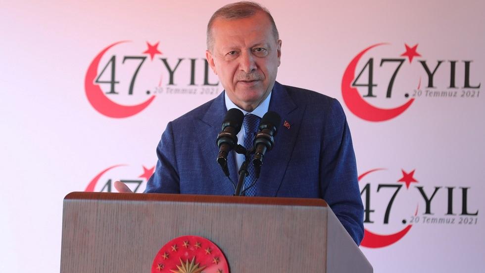 الرئيس التركي رجب جيب أردوغان