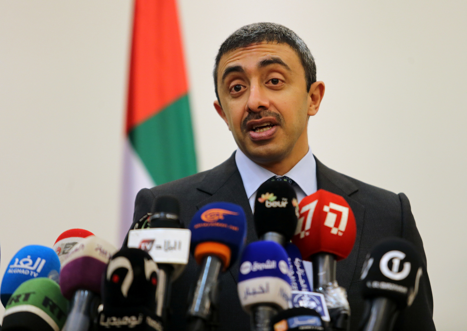وزير الخارجية الإماراتي، عبدالله بن زايد آل نهيان.