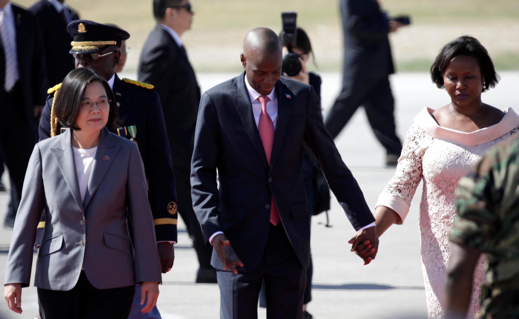 عائلة رئيس هايتي المقتول تغادر البلاد متوجة إلى الولايات المتحدة