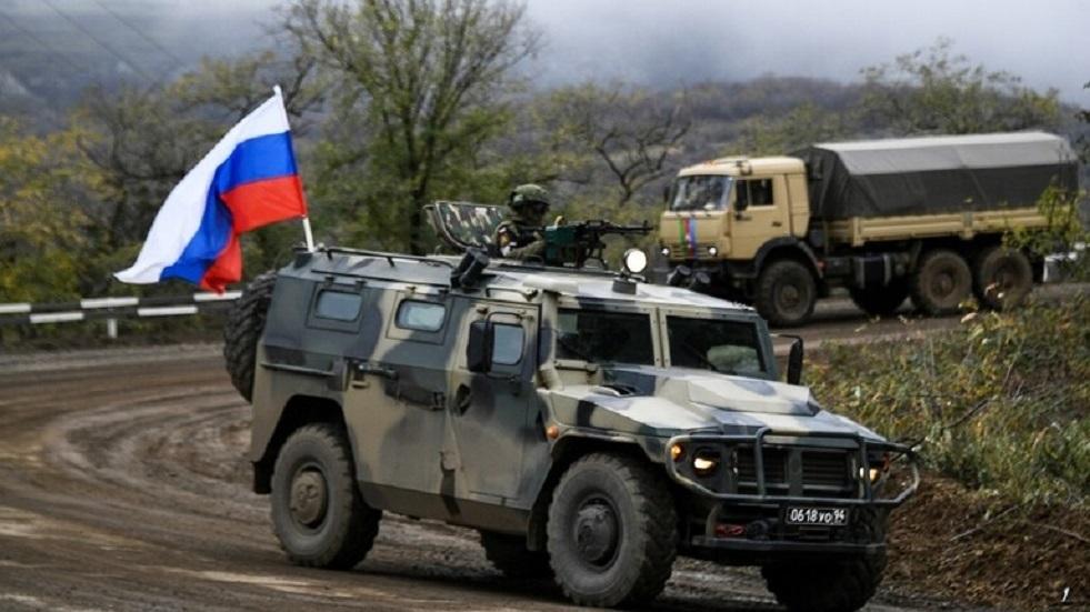الدفاع الروسية تتحدث عن عمل قوات حفظ السلام الروسية في قره باغ