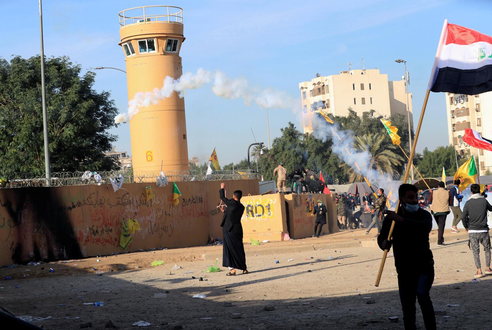 السلطات العراقية تفتح تحقيقا بسقوط صاروخ في بغداد
