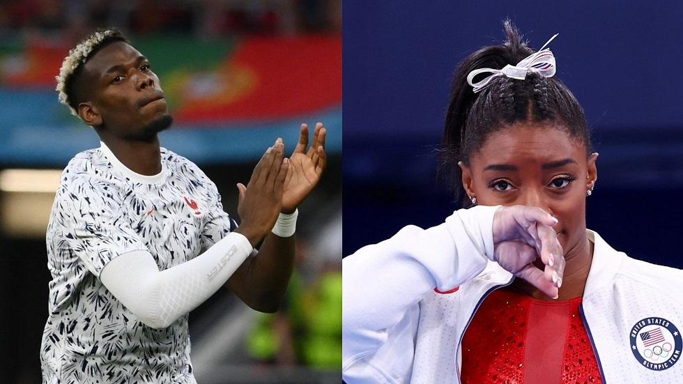 بوغبا يوجه رسالة مؤثرة لأسطورة الجمباز بعد انسحابها من أولمبياد طوكيو
