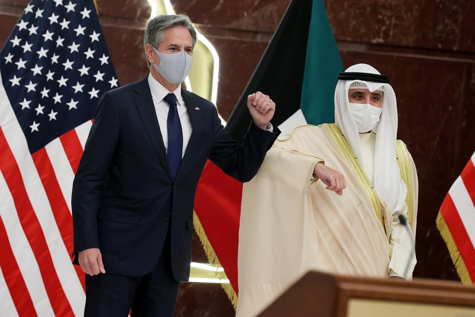 بلينكن يبحث ملف إيواء المترجمين الأفغان في الكويت