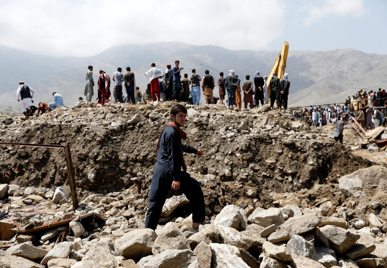 مقتل 40 شخصا وفقدان 150 جراء فيضانات في شمال أفغانستان