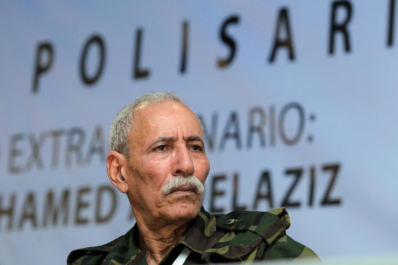 زعيم جبهة البوليساريو ابراهيم غالي