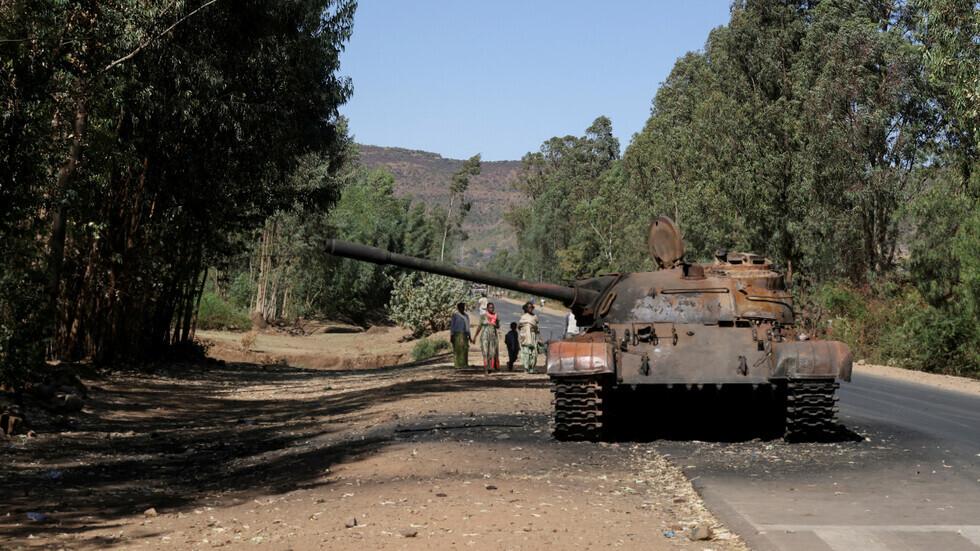لاجئون إريتريون يحتجون في أديس أبابا على تدهور الأمن في مخيمات تيغراي