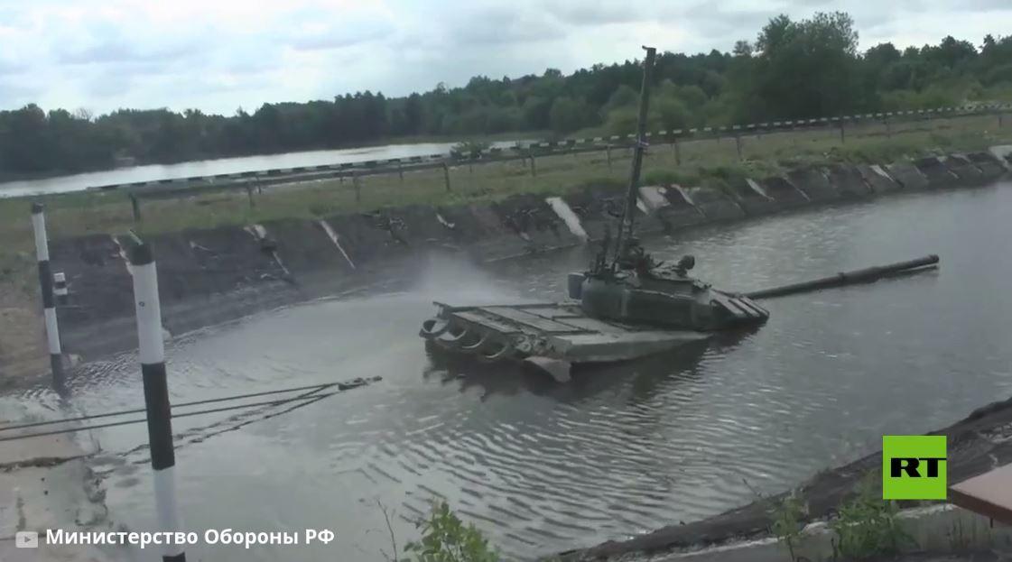 فيديو جديد.. طواقم دبابات