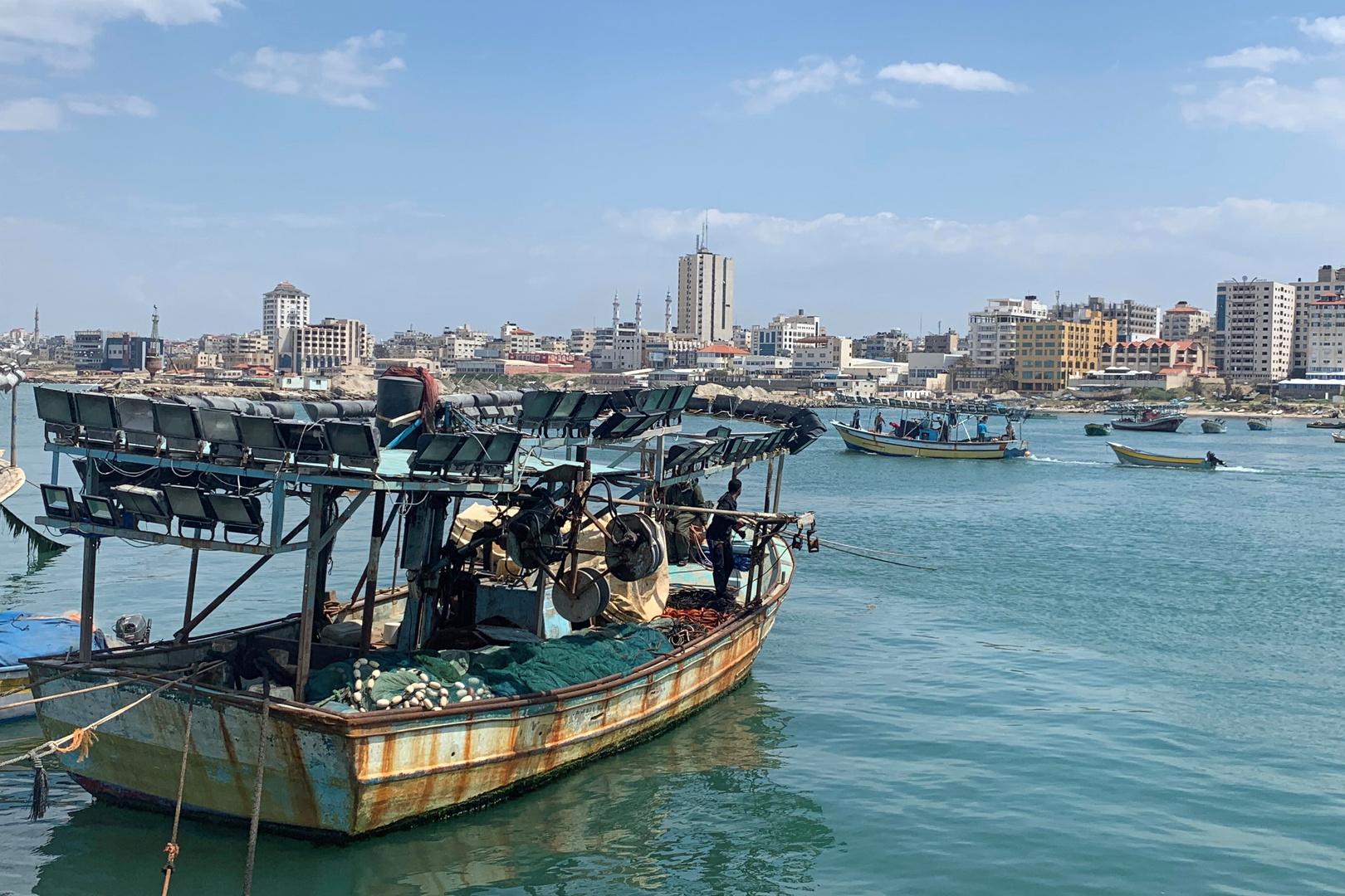 صورة تعبيرية من بحر غزة