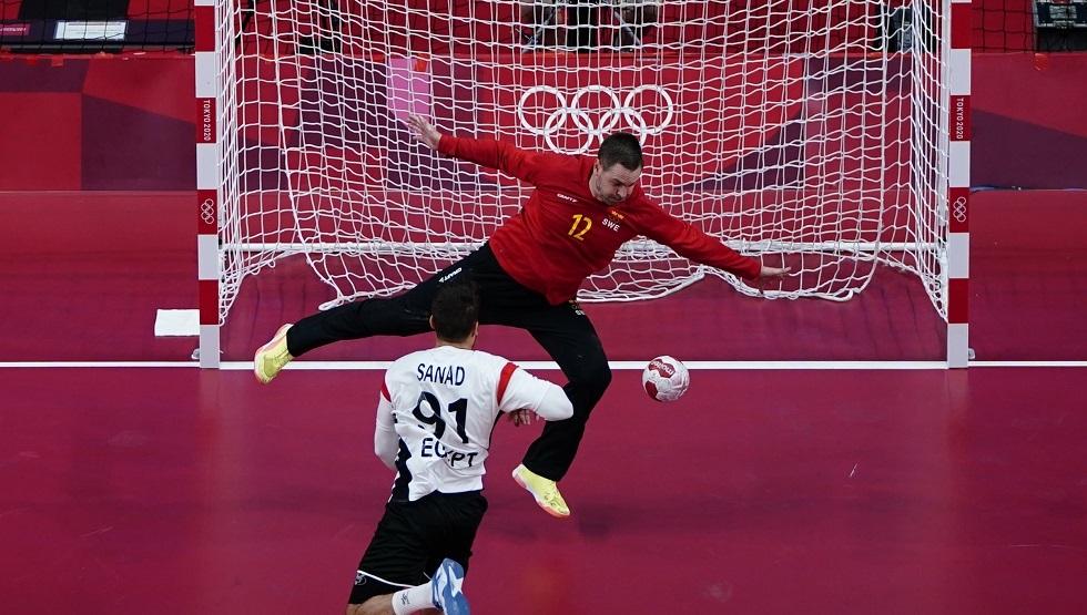 مصر تحقق فوزا ثمينا على السويد بكرة اليد في أولمبياد طوكيو