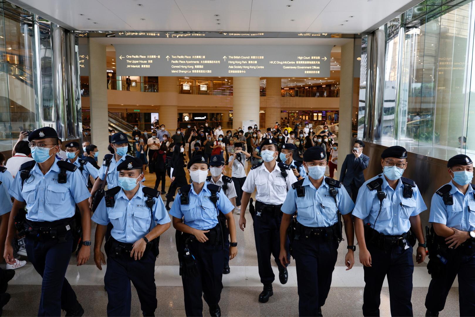 السجن تسع سنوات لأول مدان في هونغ كونغ بموجب قانون الأمن القومي