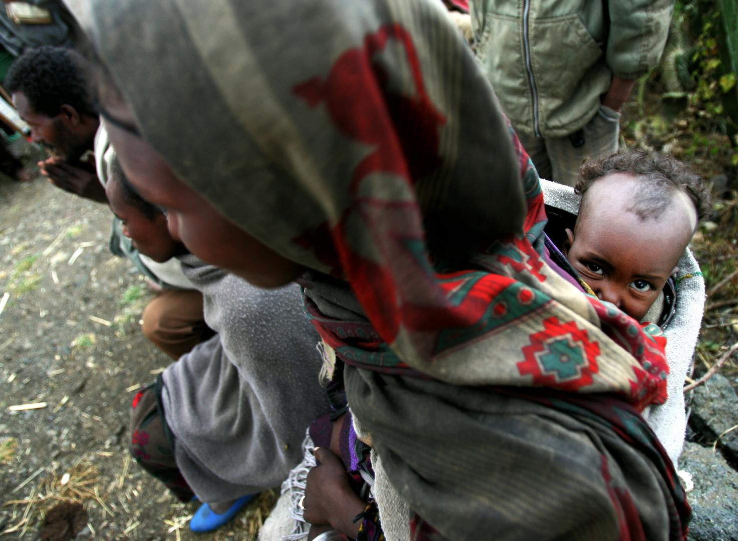 اليونيسف: سوء التغذية الحاد يهدد 100 ألف طفل في تيغراي بإثيوبيا