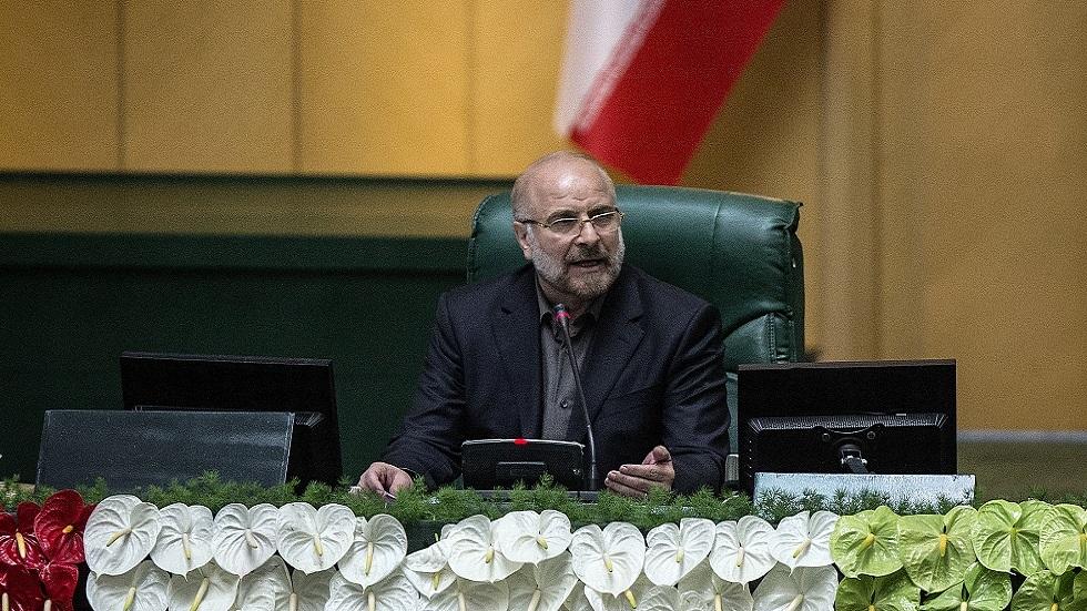 رئيس البرلمان الإيراني يكشف نتائج زيارته إلى دمشق