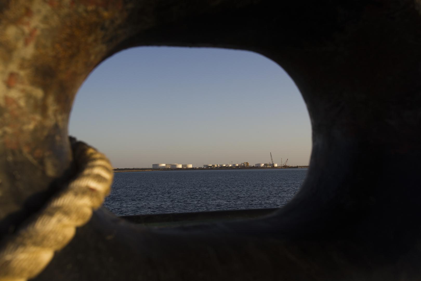 صورة من الأرشيف - ميناء جابهار جنوب شرق إيران