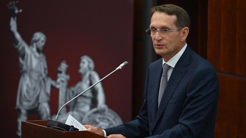 رئيس جهاز الاستخبارات الخارجية الروسية: عالم الرياضة سئم من الحملة ضد الرياضيين الروس