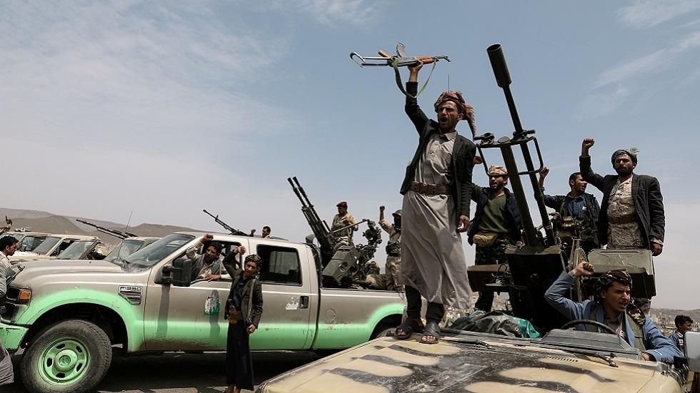 عناصر من قوات الحوثيين (صورة أرشيفية)