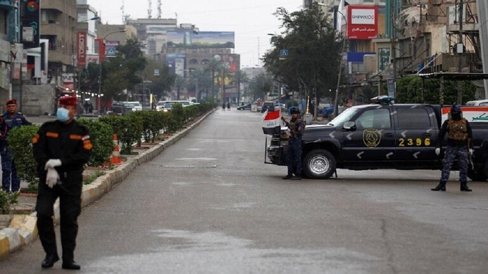 تطبيق حظر التجوال في بغداد - أرشيف