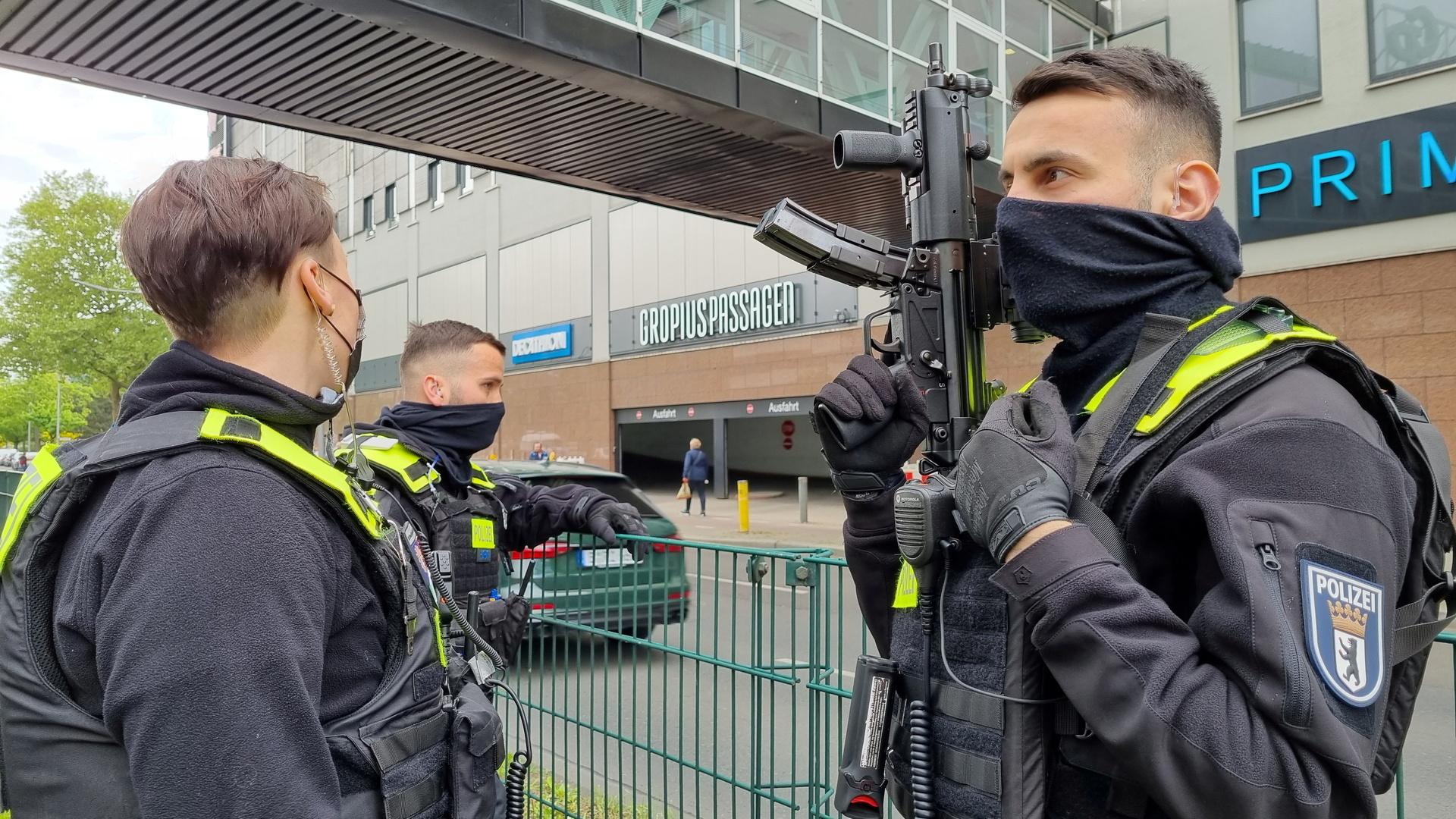 وسائل إعلام: إصابات في برلين بإطلاق للنار أمام أحد المتاجر