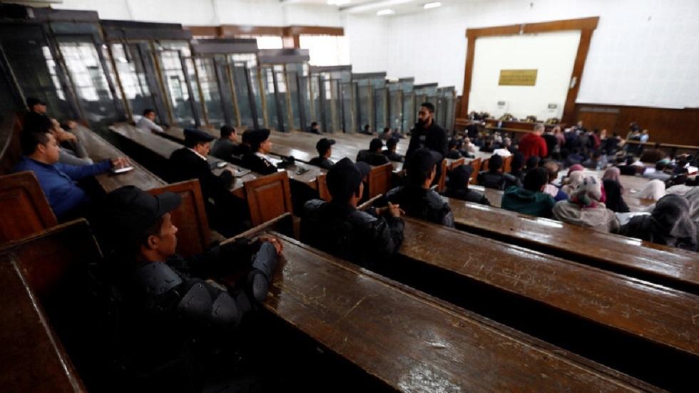 قاعة المحكمة في مصر - أرشيف