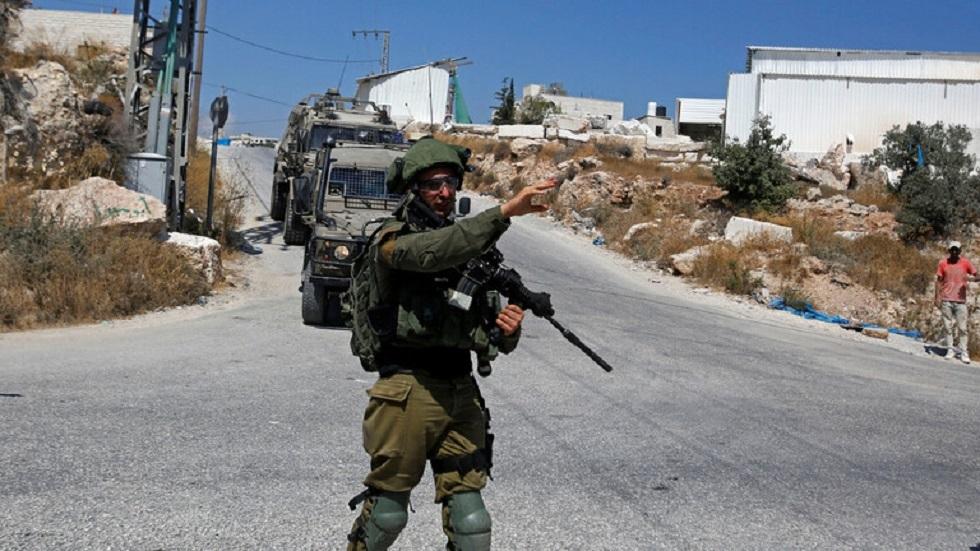 عناصر من الجيش الإسرائيلي في الضفة الغربية - أرشيف