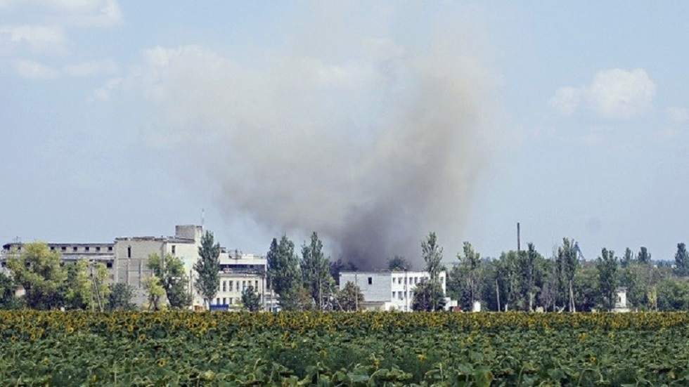 قصف أوكراني على دونيتسك - أرشيف