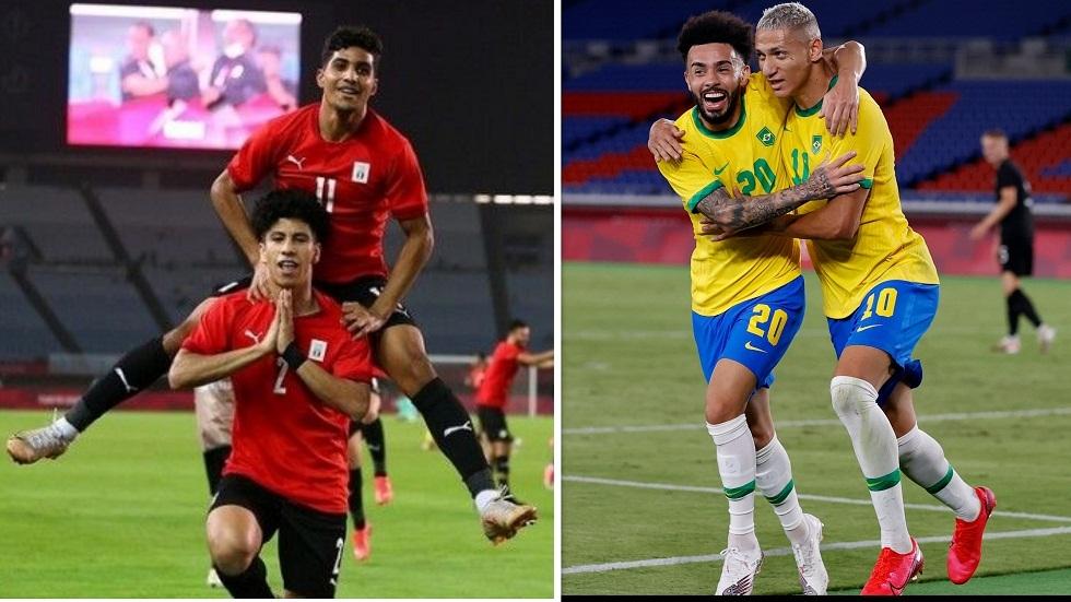 التشكيلة الأساسية للمواجهة المرتقبة بين مصر والبرازيل