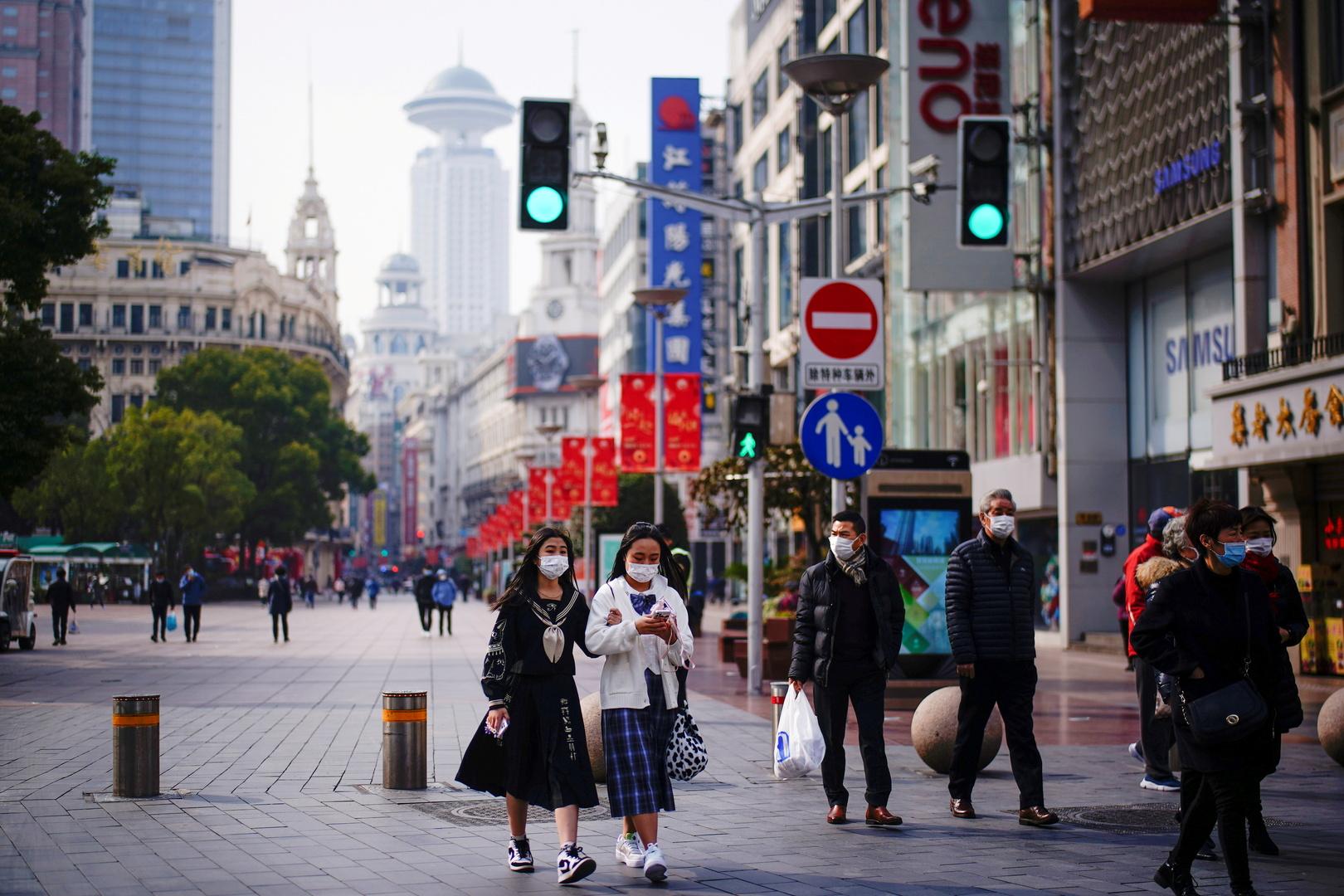 شارع في شانغهاي، صورة تعبيرية