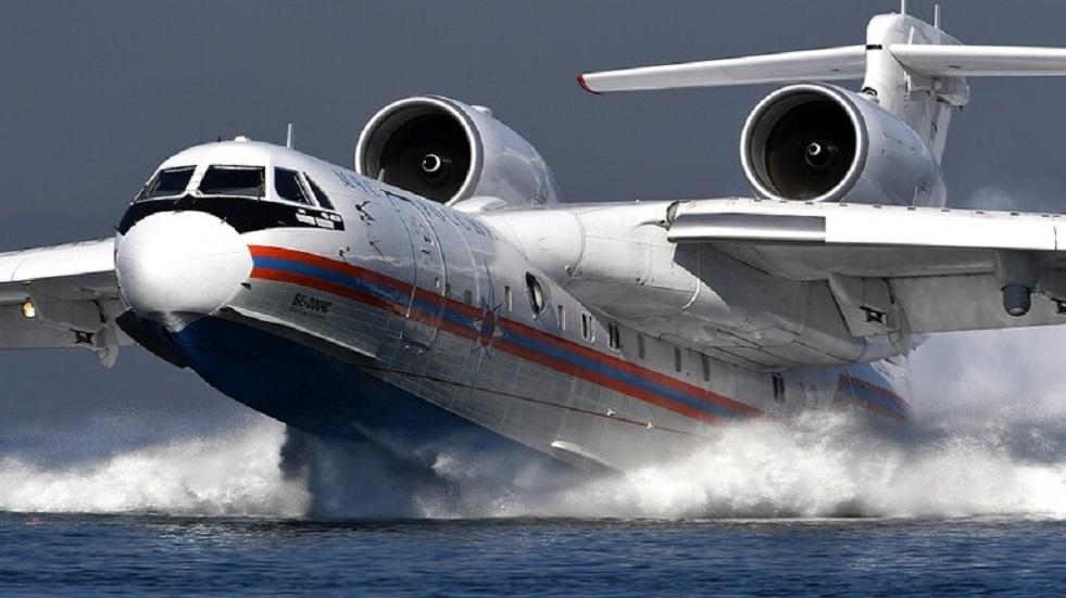 روسيا ترسل خمس طائرات وثلاث مروحيات لإطفاء الحرائق في تركيا