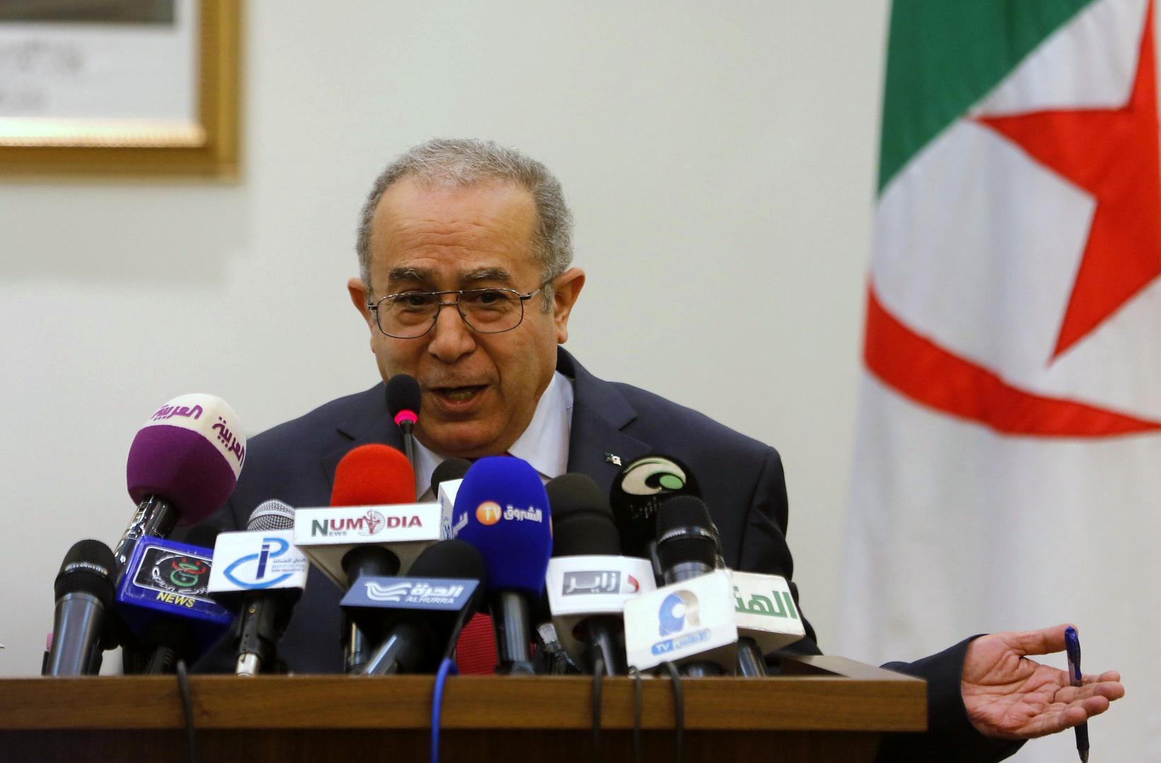 وزير الخارجية الجزائري رمطان المعامرة
