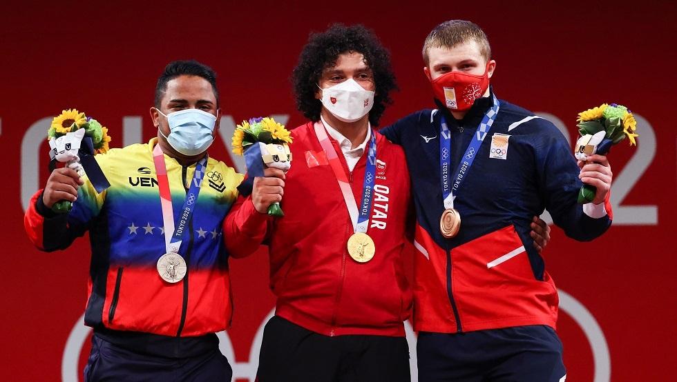 فارس إبراهيم يهدي قطر أول ميدالية ذهبية أولمبية في تاريخها