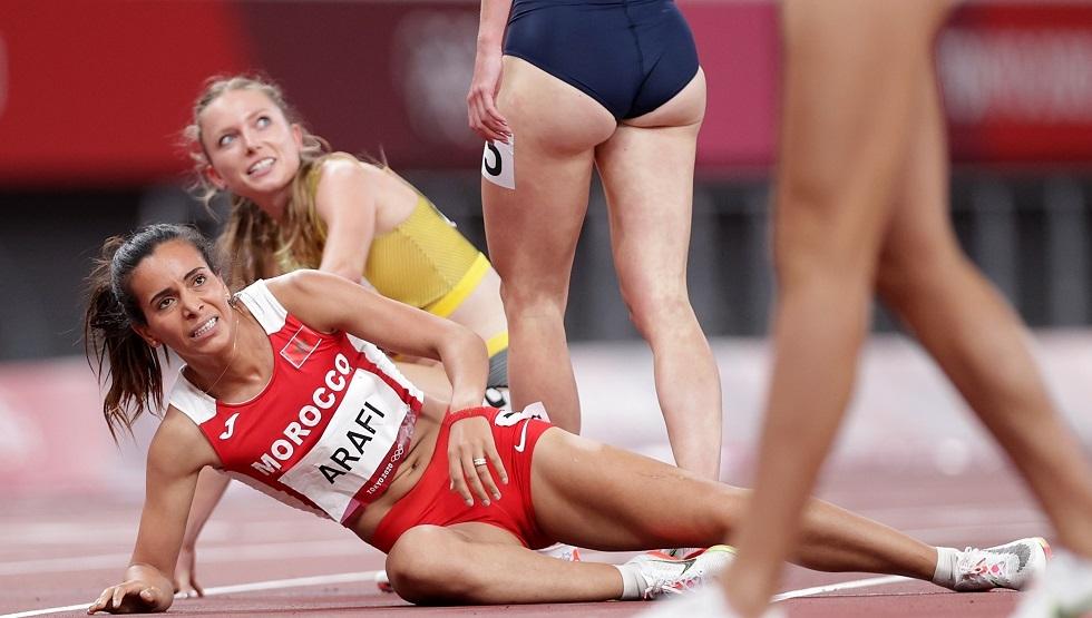 العرافي تودع أولمبياد طوكيو بخيبة أمل