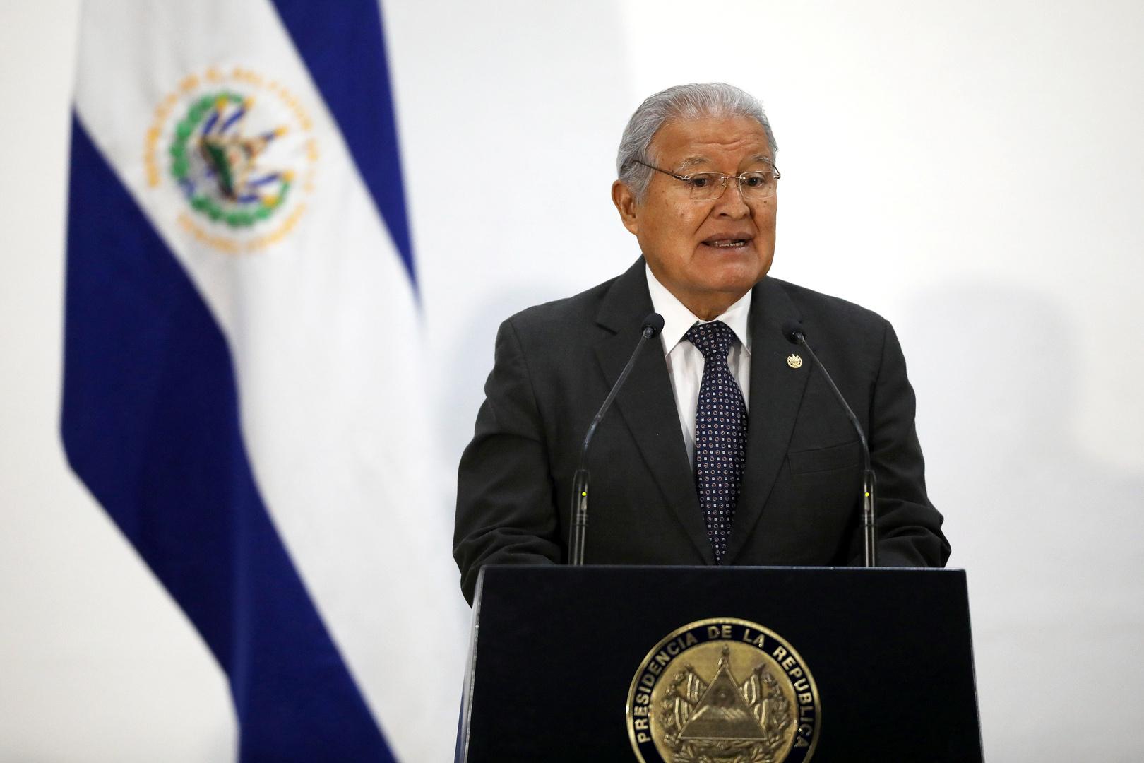 نيكاراغوا تمنح الجنسية للمرة الثانية لرئيس سلفادوري سابق مطلوب