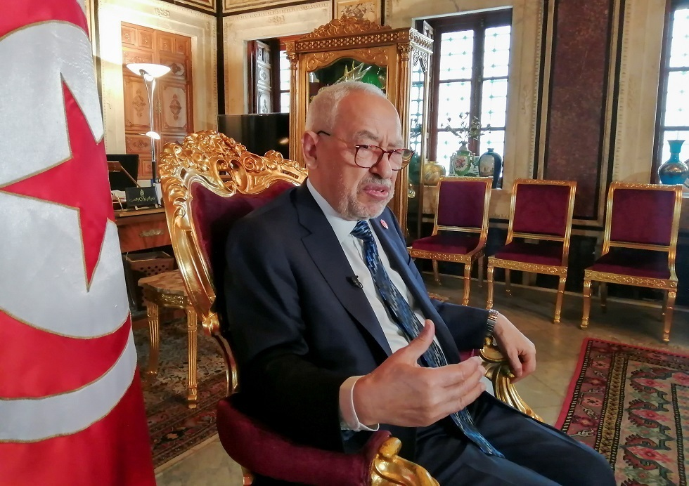 رئيس البرلمان التونسي وزعيم