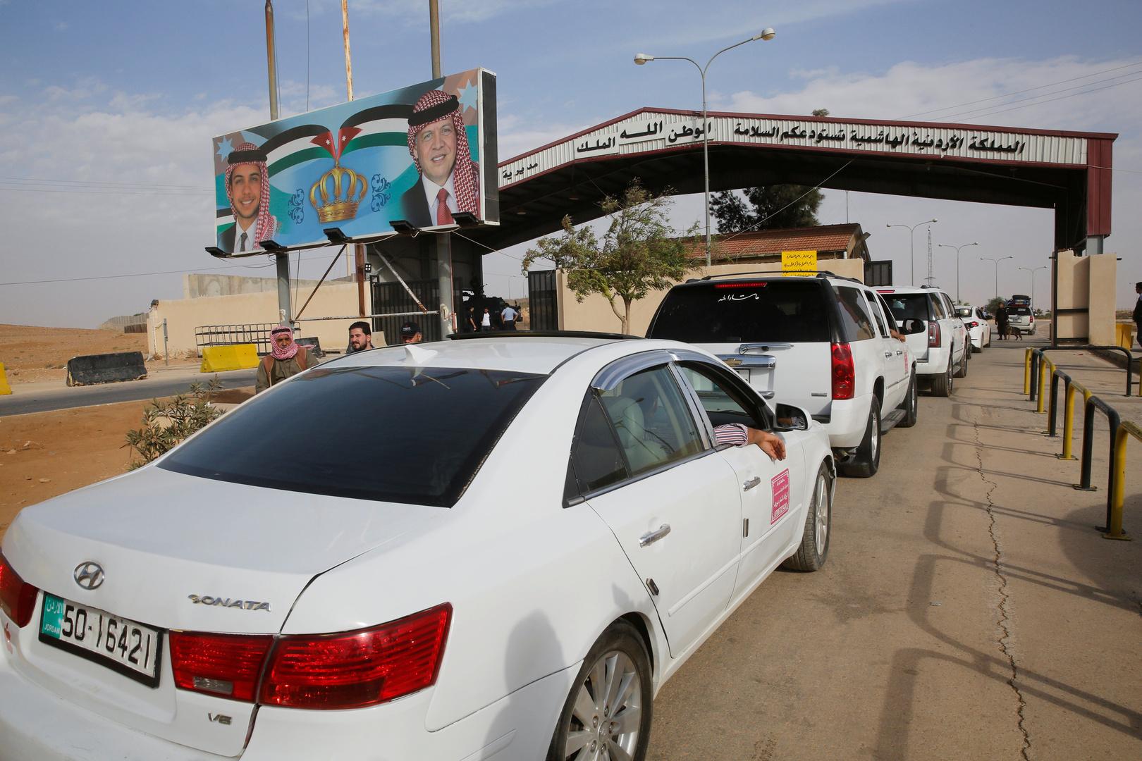 الأردن يغلق معبر جابر الحدودي مع سوريا