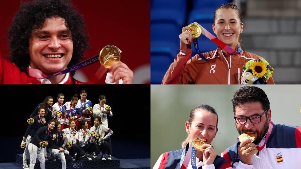 حصيلة اليوم الثامن لميداليات أولمبياد