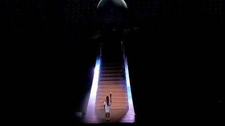 """أوساكا توقد الشعلة الأولمبية """"طوكيو 2020"""".. صور"""